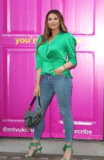 Jessica Wright Attends the Press Launch for MTV Cribs UK in London