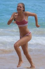 Josie Canseco On the beach in Honolulu