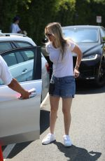 Kaley Cuoco Leaving the InStyle Day of Indulgence Party in Brentwood