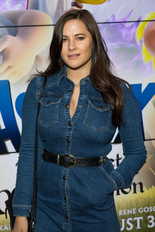 Kat Shoob Attends Asterix the Secret of the Magic Potion screening at VUE, Leicester Square