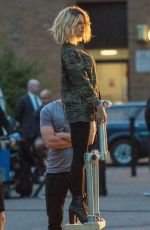 Kate Beckinsale On the set of new movie Jolt in London