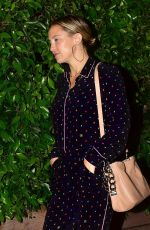 Kate Hudson Spotted looking stylish in a colorful Jumpsuit while leaving dinner in Los Angeles