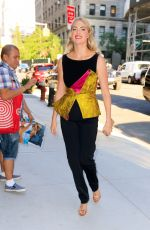 Kate Upton At Bravo Studios in NYC