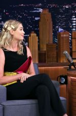 Kate Upton At The Tonight Show with Jimmy Fallon