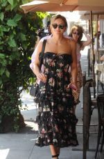 Katharine McPhee Leaving Il Pastaio in Beverly Hills
