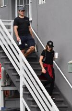 Katherine Schwarzenegger and Chris Pratt head to yoga class together in Santa Monica