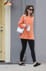Katherine Schwarzenegger Out during her morning workout in Brentwood