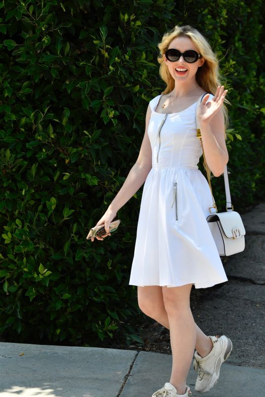 Kathryn Newton Attends the InStyle Day of Indulgence party in Brentwood
