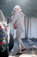 Katy Perry Heads out from her office in West Hollywood