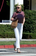 Kirsten Dunst Leaves the hair salon in West Hollywood