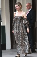 Lily James At Date Night in London