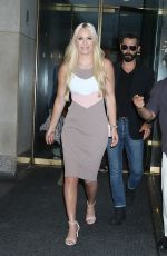 Lindsey Vonn Leaves the Today Show in New York City