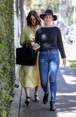 Mandy Moore Stops by Quixote Studios in West Hollywood