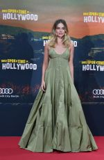 Margot Robbie At Once upon a time in Hollywood Berlin premiere