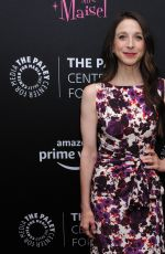 Marin Hinkle At Making Maisel Marvelous Celebrate the Opening of Immersive Exhibit, New York City