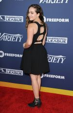 Mary Mouser At Variety