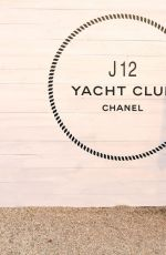 Maude Apatow At Chanel Dinner to Celebrate J12 Yacht Club at Sunset Beach