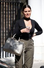 Megan Barton-Hanson Arrives at the Celebs Go Dating Office in London