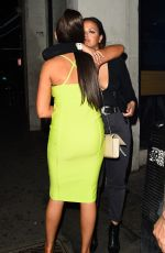 Megan Barton-Hanson Is seen here on a night out in London close with an unknown mystery Women