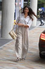 Michelle Keegan Arriving at Breakfast Studios in Manchester