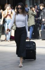 Michelle Keegan Out and About in London