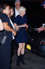 Michelle Williams Signs autographs for fans outside the After the Wedding screening in New York