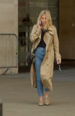 Mollie King At BBC Broadcasting House in London
