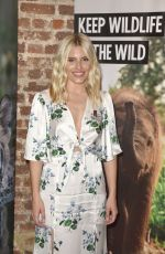Mollie King At Born Free global initiative launch, London