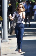 Natalie Portman Out for breakfast in Los Angeles