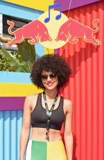 Nathalie Emmanuel At Red Bull Sound System at Notting Hill Carnival in Notting Hill London