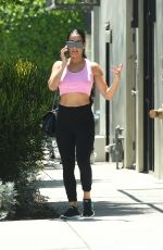 Nikki Bella Goes to the gym for a workout in Los Angeles