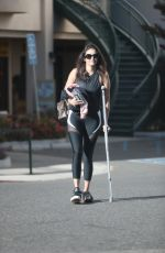 Nina Dobrev Leaving pilates class in West Hollywood