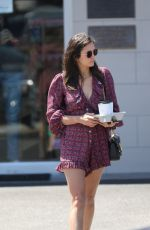 Nina Dobrev Out in LA