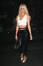 Olivia Attwood and Charlotte Dawson enjoy a wild night out at Impossible in Manchester