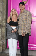 Olivia Buckland Attends the Press Launch for MTV Cribs UK in London