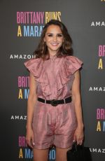 Rachael Leigh Cook At Premiere of Brittany Runs A Marathon in LA
