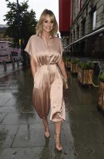 Rhian Sugden Arriving at The Eden Launch in Manchester