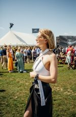 Rosamund Pike At Silver Spitfire at Goodwood Start Celebration in Chichester