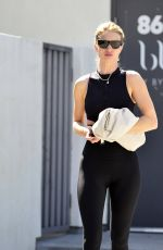 Rosie Huntington-Whiteley Leaving a gym in West Hollywood