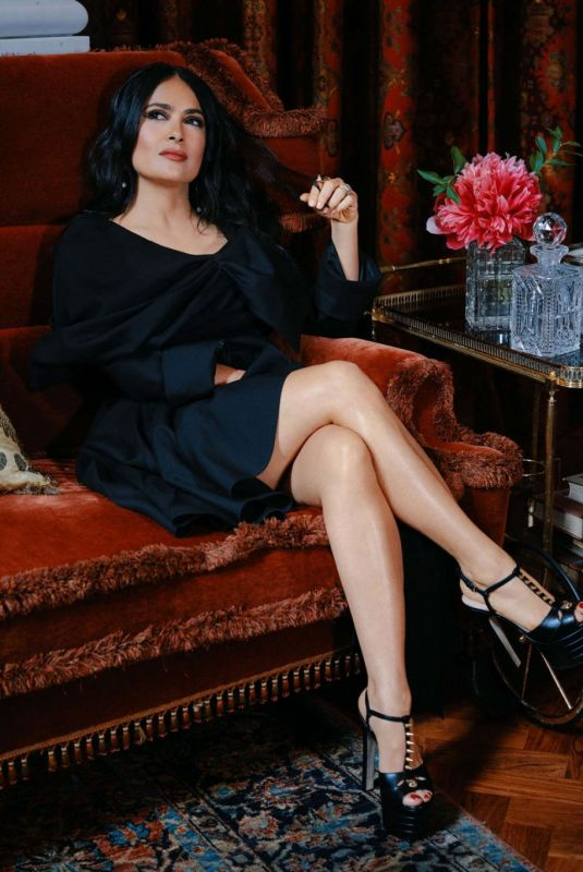 Salma Hayek - InStyle Magazine, September 2019