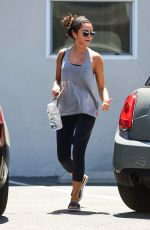 Sarah Hyland Leaving a workout in Studio City