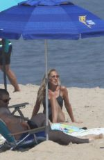 Sarah Jessica Parker On the Beach in the Hamptons