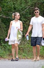 Scarlett Johansson Out in the Hamptons