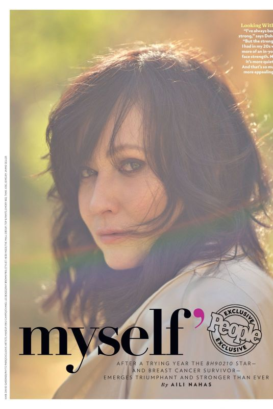 Shannen Doherty - People Magazine, August 2019