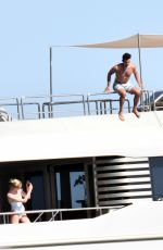Sophie Turner and husband Joe Jonas are spotted on their honeymoon holiday in Positano