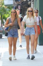 Sophie Turner Walking around with a friend in New York City - August 20, 2019