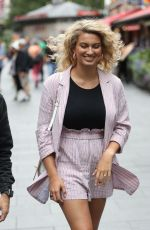 Tori Kelly Arrives at Global Offices in London