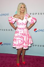 Tori Spelling At BH90210 Peach Pit Pop-Up in Los Angeles