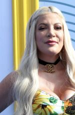 Tori Spelling Attends FOX