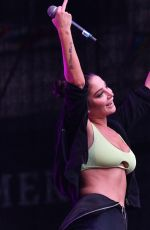 Tulisa Contostavlos Performs at Leeds Pride at Millennium Square